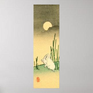 Conejo japonés no.2 póster