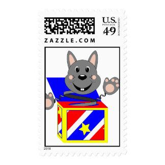 Conejo Kasper de Skrunchkin en caja colorida Envio