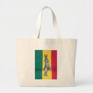Conejo Kingston Jamaica Glory.png Bolsa Tela Grande