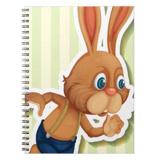 Conejo Libretas Espirales