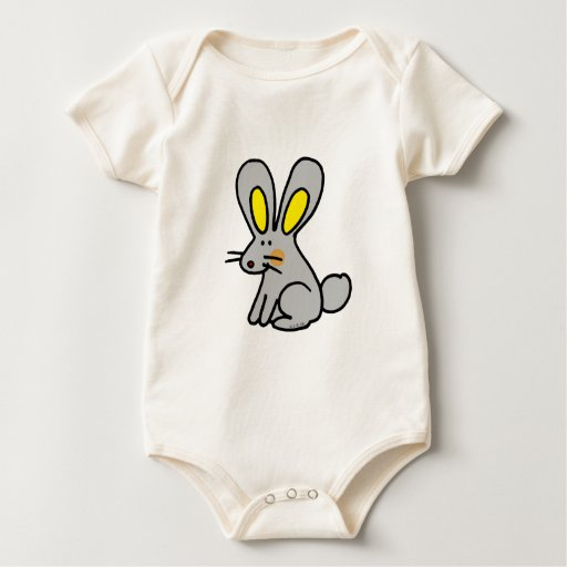 Conejo lindo body para bebé