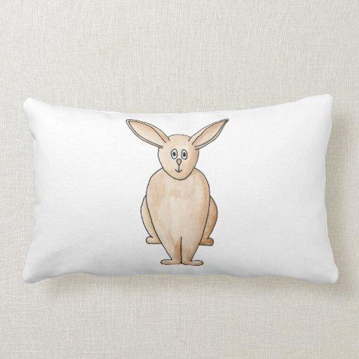 Conejo lindo cojines