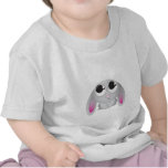 Conejo lindo del dibujo animado camiseta