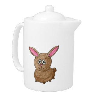 Conejo lindo divertido