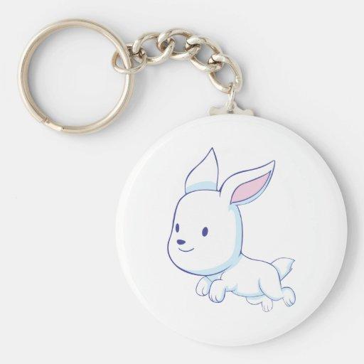 Conejo lindo llaveros personalizados