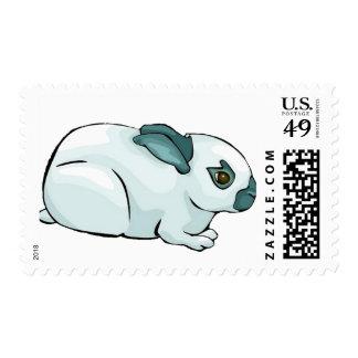 Conejo lindo sello