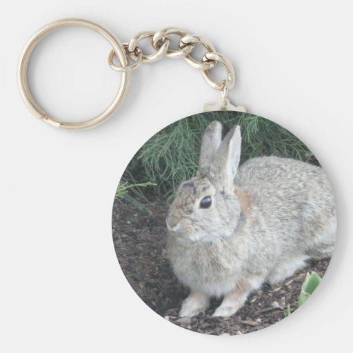 conejo llavero redondo tipo pin