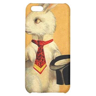 conejo mágico del acto del caso del iPhone 4 que l