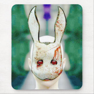 Conejo malvado tapete de raton