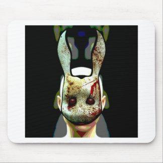 Conejo malvado mousepad