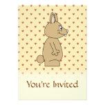 Conejo marrón claro lindo