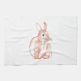Conejo mimoso toallas de cocina