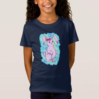 Conejo mono lila con Amola Playera