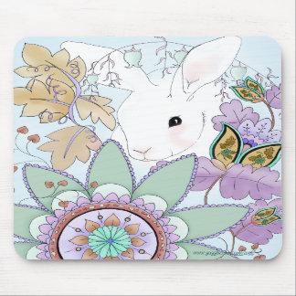 Conejo Mousepad del otoño Alfombrilla De Ratones