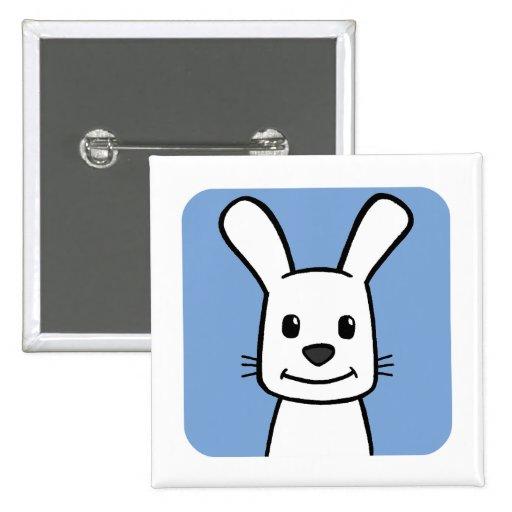 Conejo Pin Cuadrada 5 Cm
