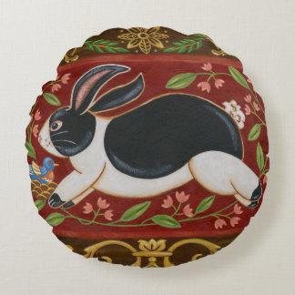 Conejo popular cojín redondo