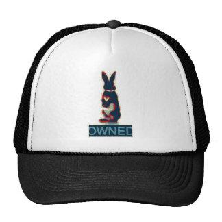conejo poseído gorras de camionero