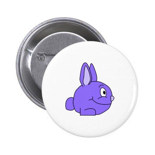 Conejo púrpura pins