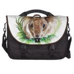 Conejo que oculta en la hierba - lápiz de la acuar bolsas para ordenador