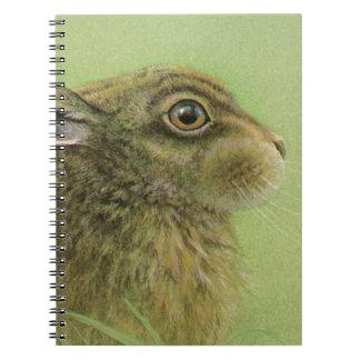 """""""Conejo que pasta"""" el cuaderno de la bella arte de"""