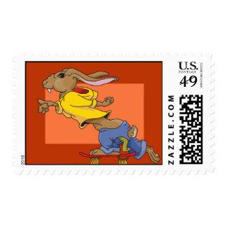 Conejo rápido sello