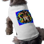 Conejo retro camisetas de mascota