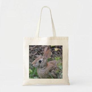 Conejo salvaje bolsa de mano