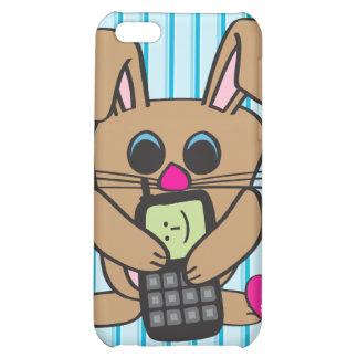 Conejo - teléfono celular - caso del iPhone 4