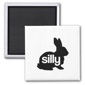 Conejo tonto imán para frigorífico