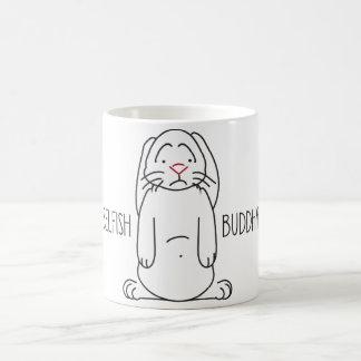 Conejo triste taza