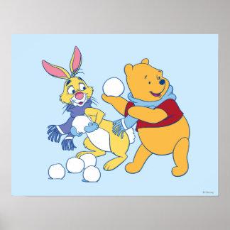 Conejo y bah póster
