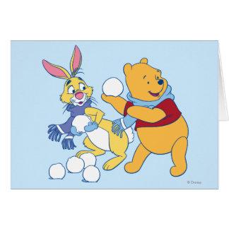 Conejo y bah tarjetas