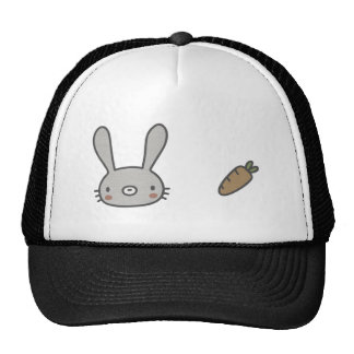 Conejo y zanahoria gorro