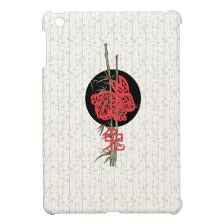 Conejo zodiaco chino iPad mini protector