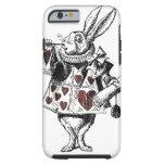 Conejos blancos de los corazones - Alicia en el