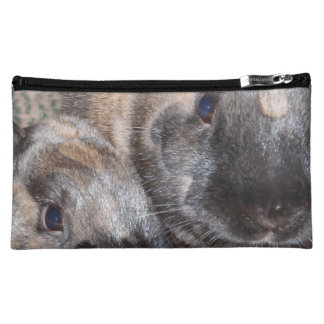 Conejos de conejito - 2 conejitos sedosos de Brown