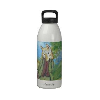 Conejos de conejito botellas de agua reutilizables