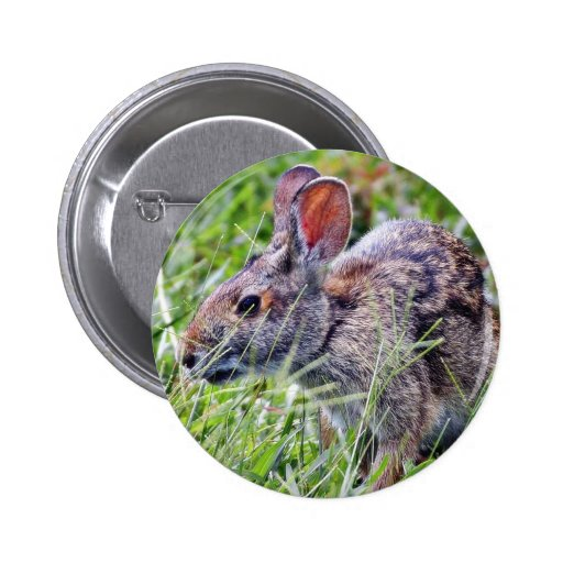 Conejos de conejitos del conejito pin redondo 5 cm