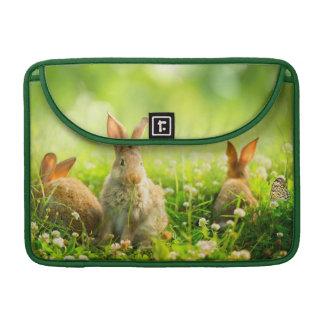 Conejos de Pascua Funda Para Macbook Pro