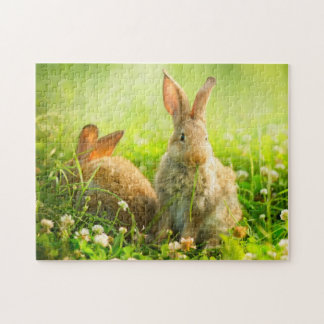Conejos de Pascua Puzzle