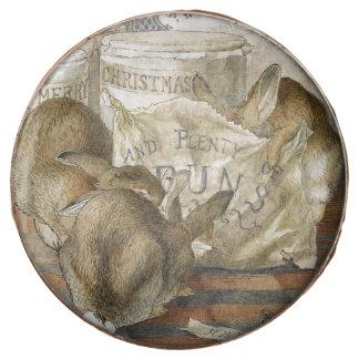 Conejos del navidad en la panadería