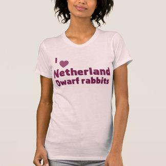 Conejos enanos de Netherland Remeras