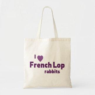 Conejos franceses del Lop Bolsa Tela Barata