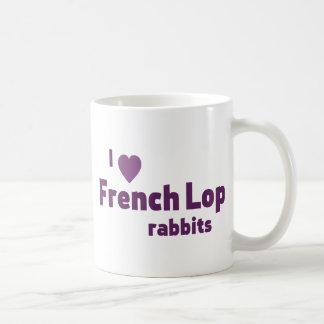 Conejos franceses del Lop Taza