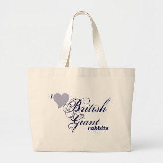 Conejos gigantes británicos bolsas