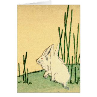 Conejos japoneses no.2 tarjeta de felicitación