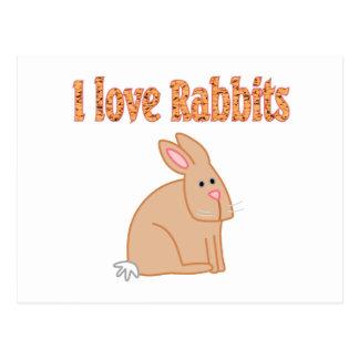Conejos Tarjetas Postales