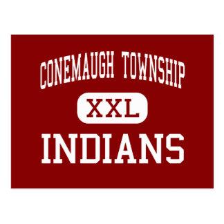 Conemaugh Township - Indians - Area - Davidsville Postcard