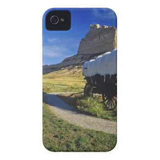 Conestoga wagon at Scottsbluff National Case-Mate iPhone 4 Case