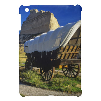 Conestoga wagon at Scottsbluff National Cover For The iPad Mini